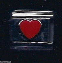 Red Heart  Wholesale Italian Charm 9 Mm - $7.16