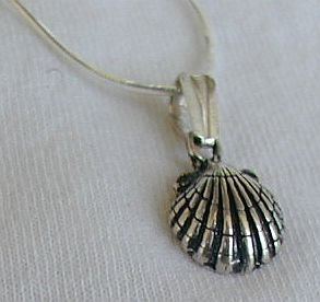 Mini shell pendant