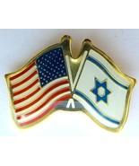 Israel army IDF Israel U.S.A coordination unit pin flag - £6.76 GBP