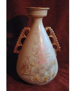 English Chelsea Royal Burslem Pottery H & G Gilt Vase - $85.00