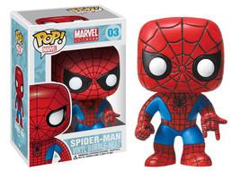 Marvel Comics Classic Spider-Man Vinyl POP! Figure Toy #03 FUNKO NEW MIB - $12.55
