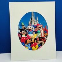 Walt Disney VTG lithograph poster print litho 14X11 Snow White seven dwa... - $26.90