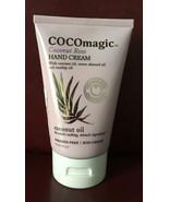 COCOmagic~Coconut Rose~Hand Cream W/Coconut,Sweet Almond & Rosehip Oil.4... - $8.90