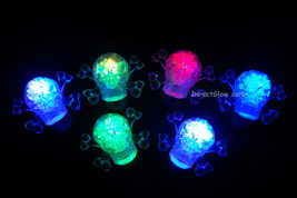 Set of 12 Litecubes Skulls Light up LED Ice Cubes - $38.65 CAD