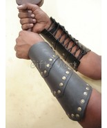 Medievil Kight Archery Arm Guards Wrist Forearm Armor Leather Dress Up K... - $34.29