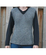 Sleeveless Chainmail Shirt, Medieval Chain Mail Vest, Armor Chainmaille ... - $68.59