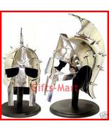 Maximus Gladiator Helmet GREEK MAXIMUS SPARTAN, MAXIMUM DECIMUS MERIDIUS - $57.82