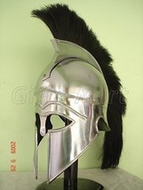 Medieval Greek CORINTHIAN HELMET Reenactment Collectible theatrical dress - $50.96