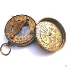 Antique Nautical Maritime Pocket Brass Sundial Compass - Wholesale Lot o... - $93.09