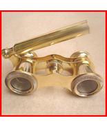 Vintage Brass Binocular Opera Glasses, Nautical Marine - Full Solid Bras... - $38.91