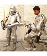Fully Wearable Gothic Knight Suit of Armor 15th Century Reenactment Cost... - $1,812.02