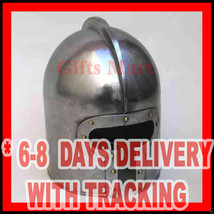 Barbuta Helmet, Medieval European Barbute Helmet, Re-enactment Armor Costume - $64.67