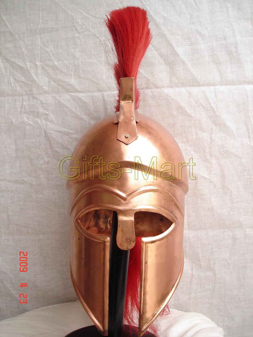 Griechenland KORINTHER HELM Ritter Sparta Rüstung Ritterhelm Helm der Korinther