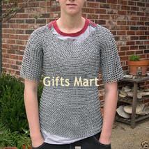 Riveted Aluminium Chainmail Shirt  M, Round Riveted Chain mail Shirt Chainmaille - $97.02