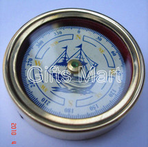 Paperweight Brass Compass, Collectible, Pocket, Collectable, Nautical, M... - $29.39