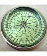 Brass Marine Desktop Compass Paperweight Nautical Maritime Tabletop Pape... - $24.49