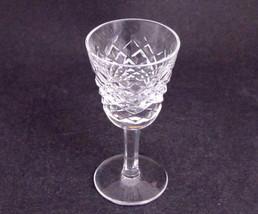 Signed Waterford glass Hand Cut  liquor Alana pattern Irish Crystal - $17.60