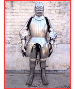 MAXIMILIAN FULL SUIT OF ARMOUR 15th Century Body ARMOR LARP REENACTMENT ... - $5,000.00