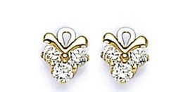 14k Gold Earring Screw Back For Children ,Adults, Girls Buy One Get One Free - $74.97