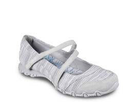 Skechers Relaxed Fit Bikers Ripples Sport Plano Gris Sz 6 Nuevo Nwt - $33.40