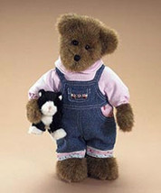 "Boyds Bears ""Reagan Emery""  #904800- 12"" Plush Bear- NWT-2008 -Retired - $39.99"