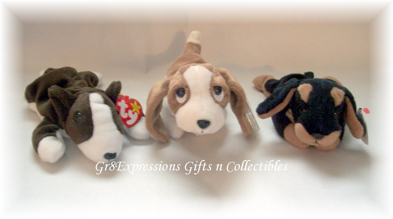 df0d9dc4c59 Ty Beanie Babies Bruno~Tracker~Doby Retired and 50 similar items