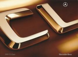 2009 Mercedes-Benz CL brochure catalog 550 4MATIC 600 CL63 AMG - $12.00