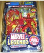 Marvel Legends Series II - Human Torch Action Figure 2002 - $27.50