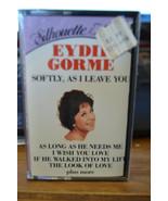 Eydie Gorme Softly, As I leave You Cassette BHT 16872 - $19.55