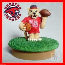 Houston Cougars Mason Jar Coin,Candy,Candle Mascot Mason Jar Sport Cover - $15.03