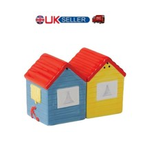 """SP beech huts (3"""" with magnets) salt & pepper set dinning table cruet sets - £10.09 GBP"""