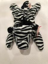 Retired Ty MWMT-MQ Fuzzy Back Ziggy *Oddity* Beanie Baby - $99.00