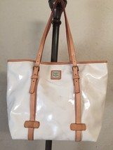 Pre-Owned, GENUINE, DOONEY & BOURKE,Pearl Whote, Ladies Tote Bag/ Handba... - $54.99