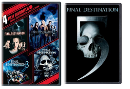 Final Destination 1-5 DVD Full Collection