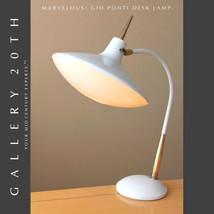 EPIC! GIO PONTI MID CENTURY MODERN LAUREL LAMP 50's Fontana Arte UFO Ato... - $1,870.00