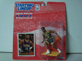 1997 Starting Lineup NBA Series 10 Denver Nuggets Mark Jackson Action Fi... - £4.65 GBP