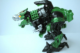 """Transformers Robots In Disguise Stomp and Chomp Grimlock Figure Toy 20"""" Green - $35.00"""