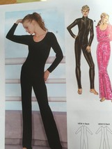 Kwik Sew Sewing Pattern 3052 Ladies Misses Unitards Size XS-XL New - $14.85