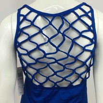 Jantzen Swim Tankini Womens 6 Blue Caging Swimsuit Top New NWT - $8.00