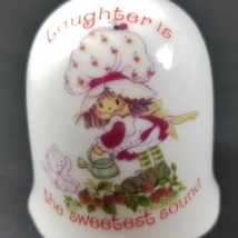 Vintage 1980 Strawberry Shortcake Bell Laughter is Sweetest Sound Custar... - $19.99