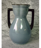 Vintage Czecho Slovakia Blue Lustre Luster Vase - Czechoslovakia - $10.00