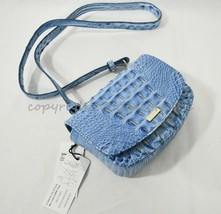 NWT Brahmin Leather Lil Belt Bag/Shoulder Bag / Crossbody Bag Cerulean M... - $199.00