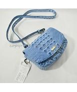 NWT Brahmin Leather Lil Belt Bag/Shoulder Bag / Crossbody Bag Cerulean Melbourne - $199.00