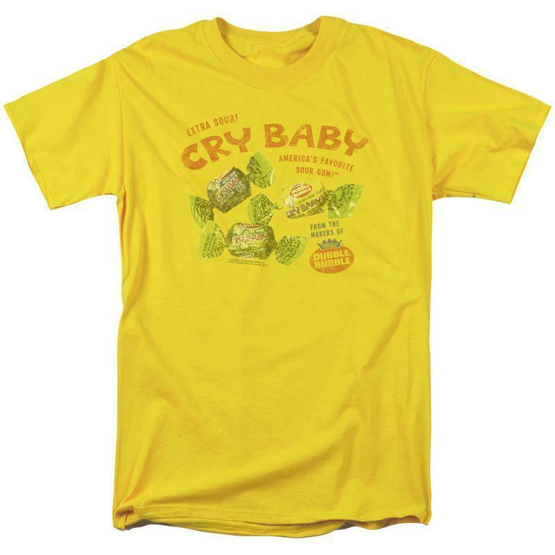 Dubble Bubble Cry baby T-shirt retro 1980's candy gum graphic tee DBL149