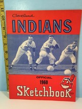 1960 Cleveland Indians Official Picture & Record Sketchbook  - $39.55