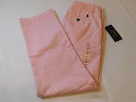 Polo Von Ralph Lauren Jungen Jugend Hose Größe 12 Pink Frühling 052009 Nwt - $26.72