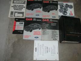1987 Ford Mustang Gt Cobra Service Shop Repair Manual Set OEM FACTORY BO... - $247.49
