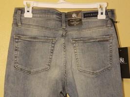 Rock & Republic Berlin Whiskered Denim Jeans - Light Wash - Skinny 8 - $88.95