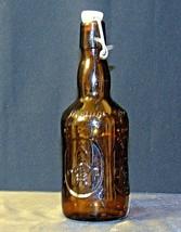 Brauer Bier Amber Brown Beer Bottle AA18 - 1155 Old Vintage image 2