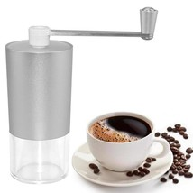 Manual Coffee Beans Grinder Aluminum Pepper Mill Transparent Adjustable ... - $14.87